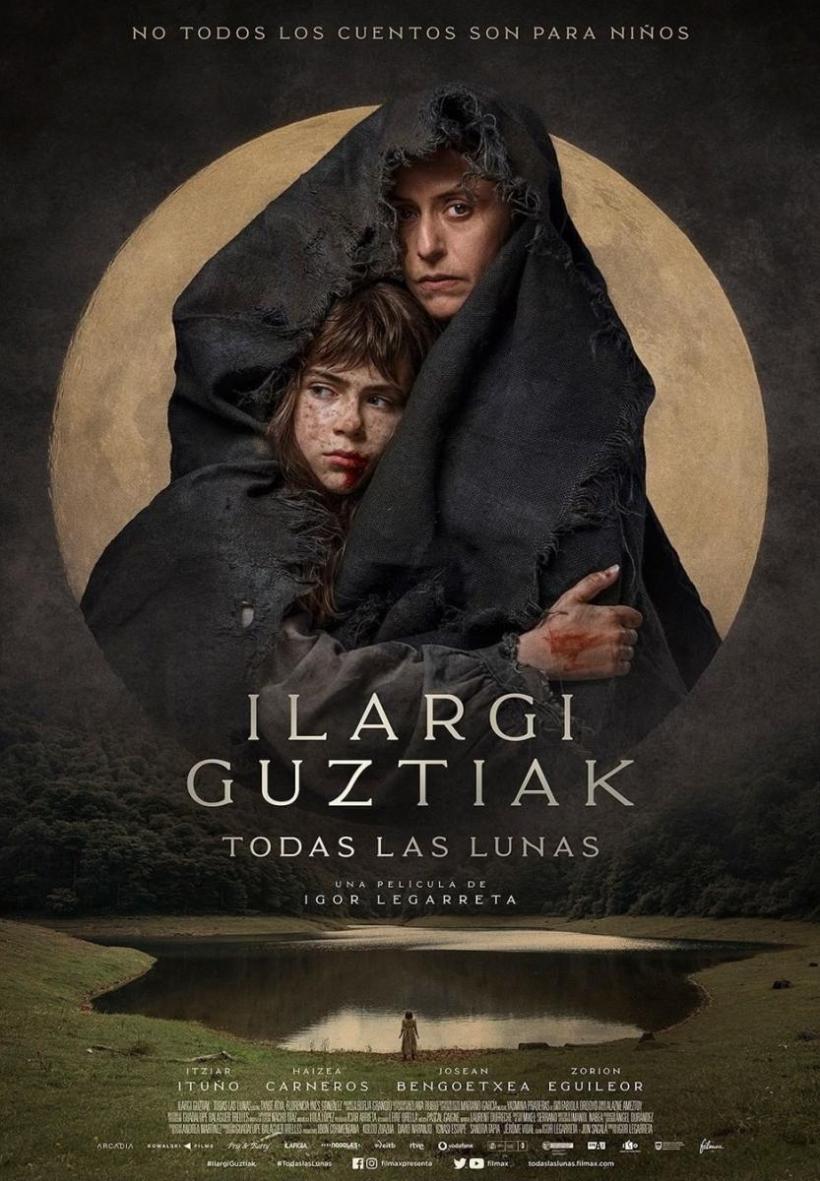 Cartel de la película Todas las lunas.
