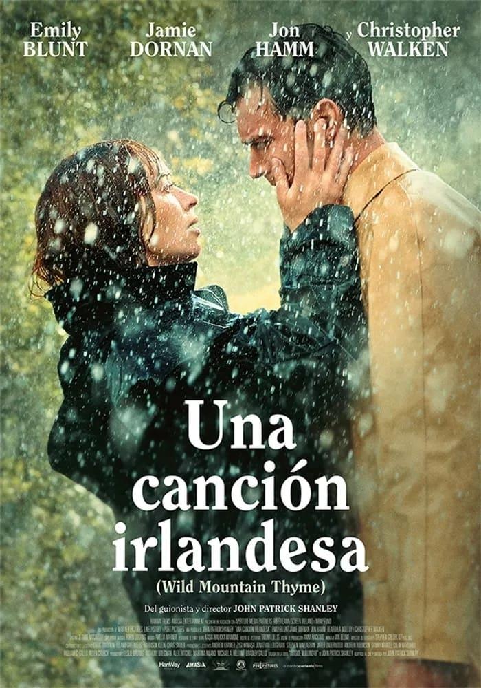 Cartel de la película Una Canción Irlandesa.