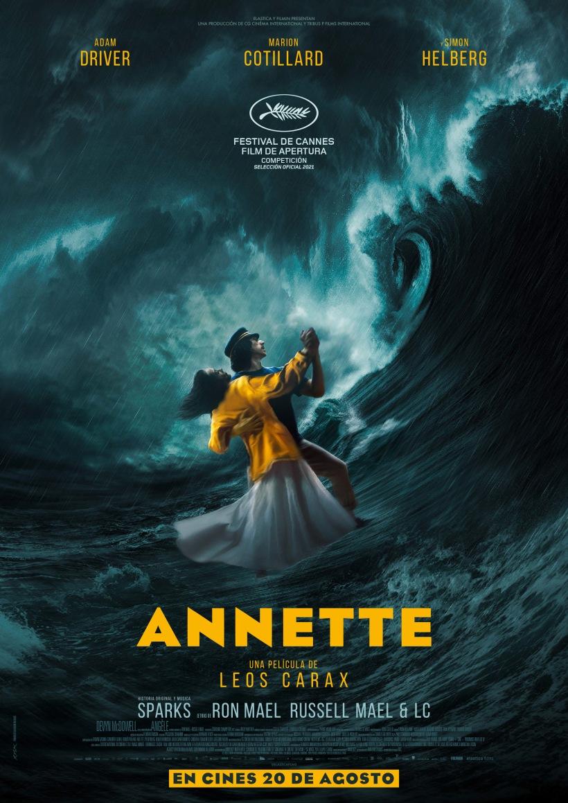 Cartel de la película Annette.