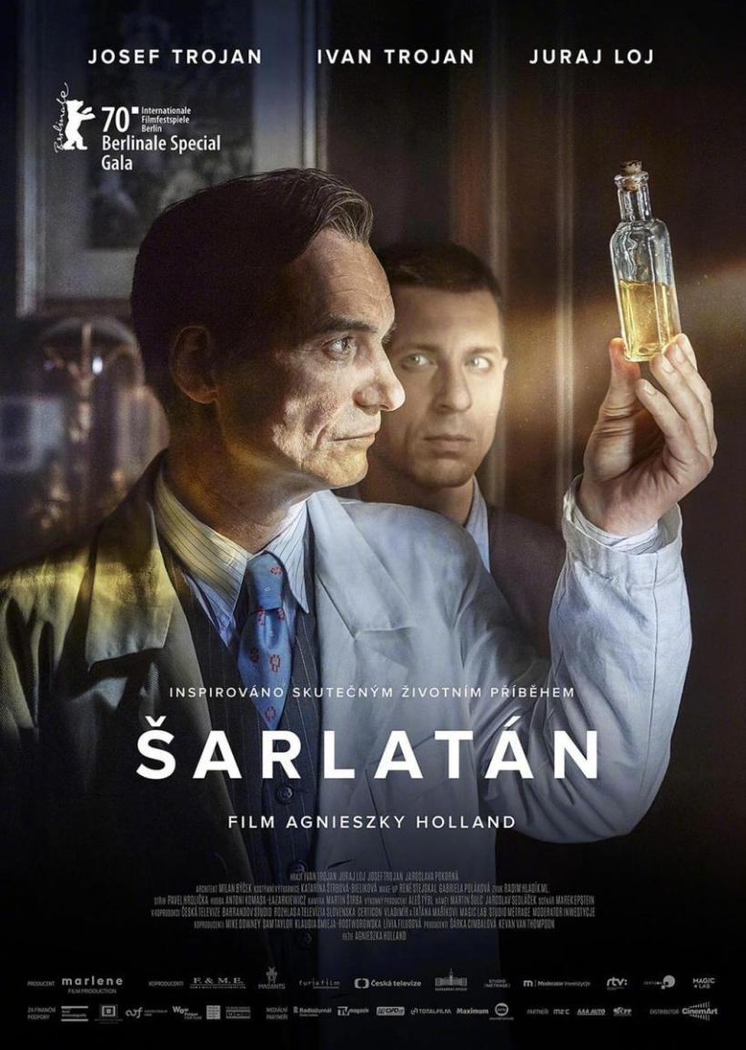 Cartel de la película Charlatan.