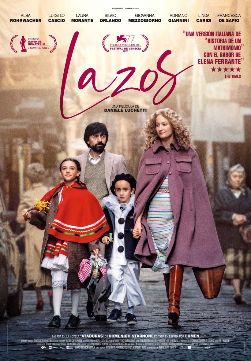 Cartel de la película Lazos.