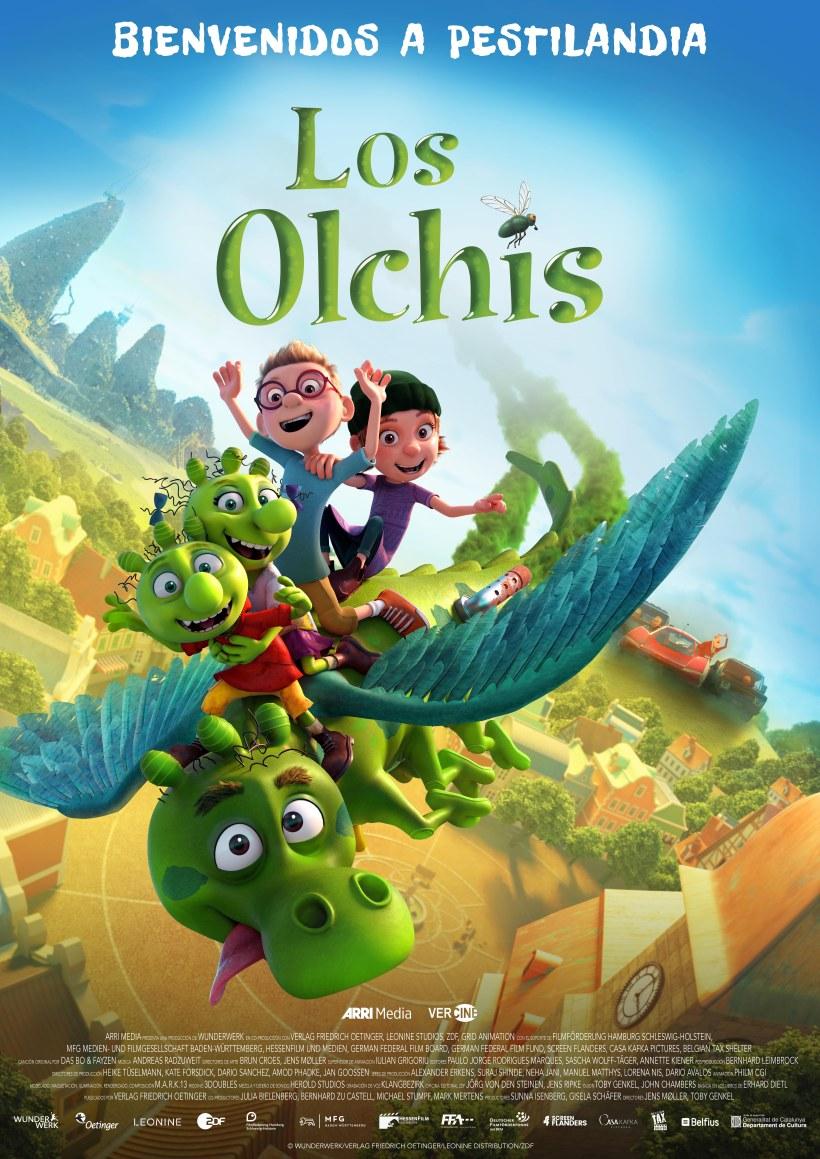 Cartel de la película los Olchis.