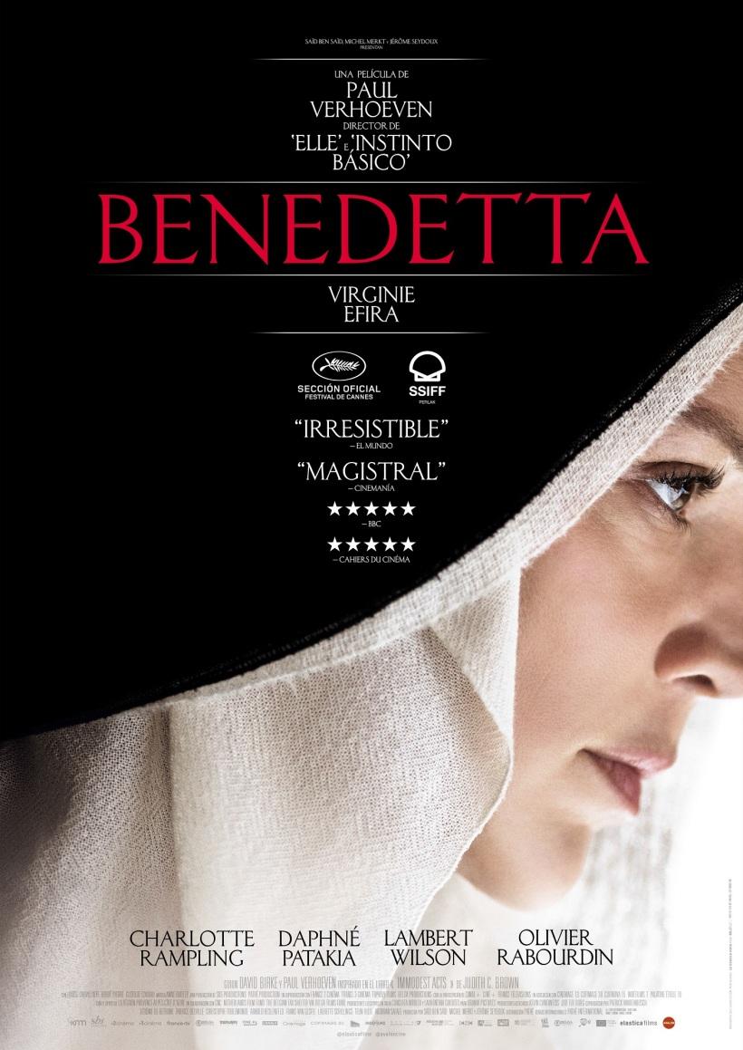 Cartel de la película Benedetta.