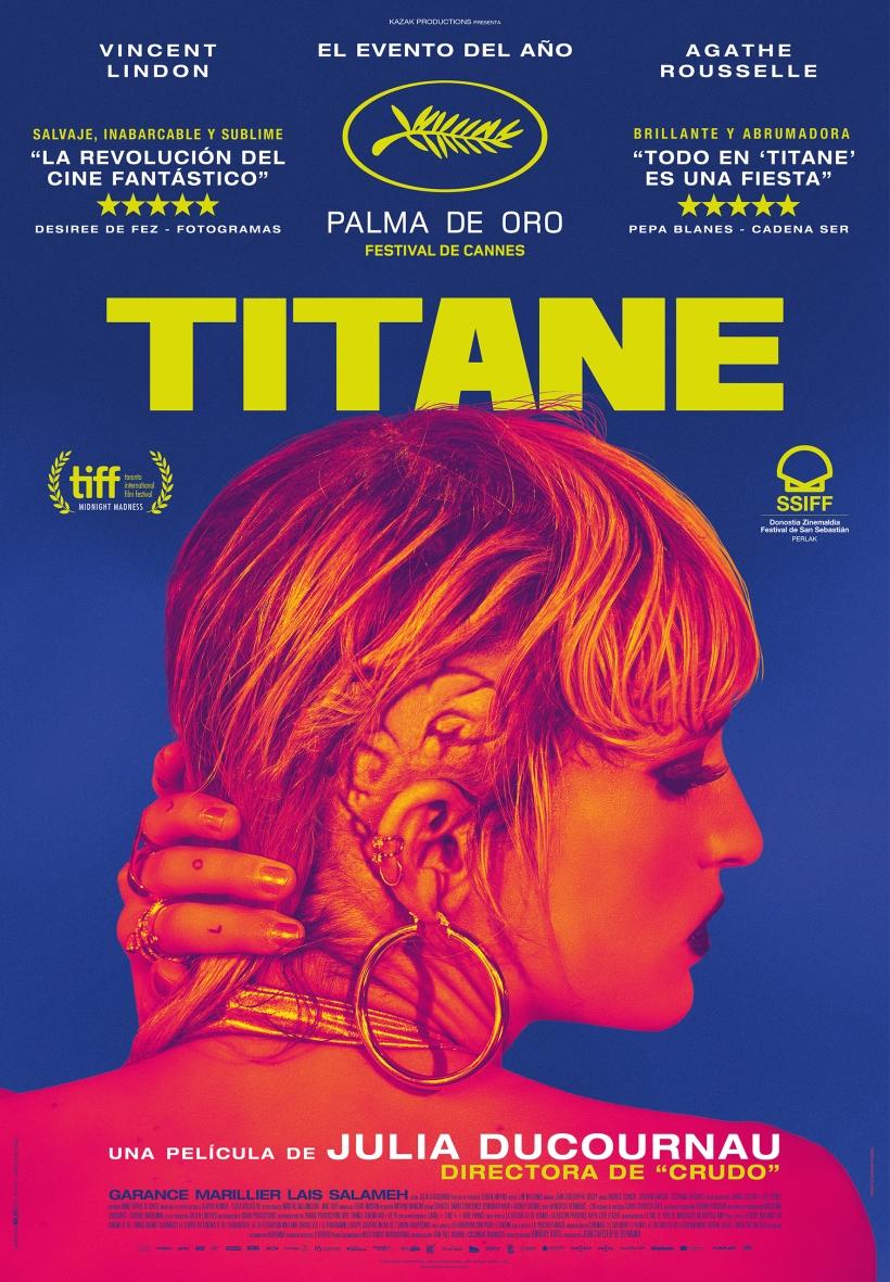 Cartel de la película Titane.